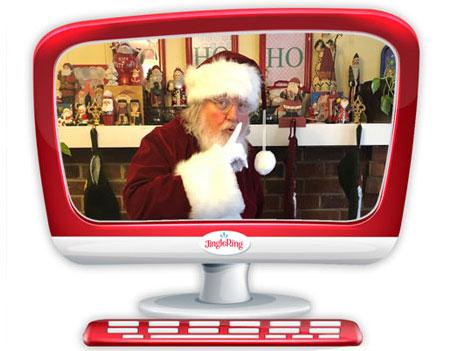 Santa Mike at Jingle Ring in 2020
