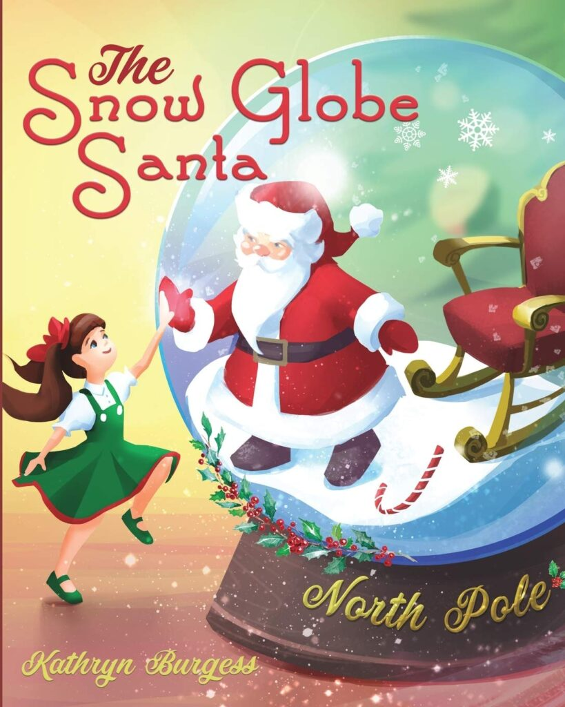 The Snow Globe Santa at Short Pump Mall in Richmond, Virginia.